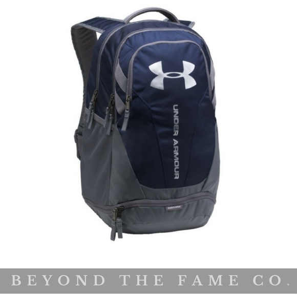 8560fd856b NWT Under Armour Hustle 3.0 Backpack NAVY